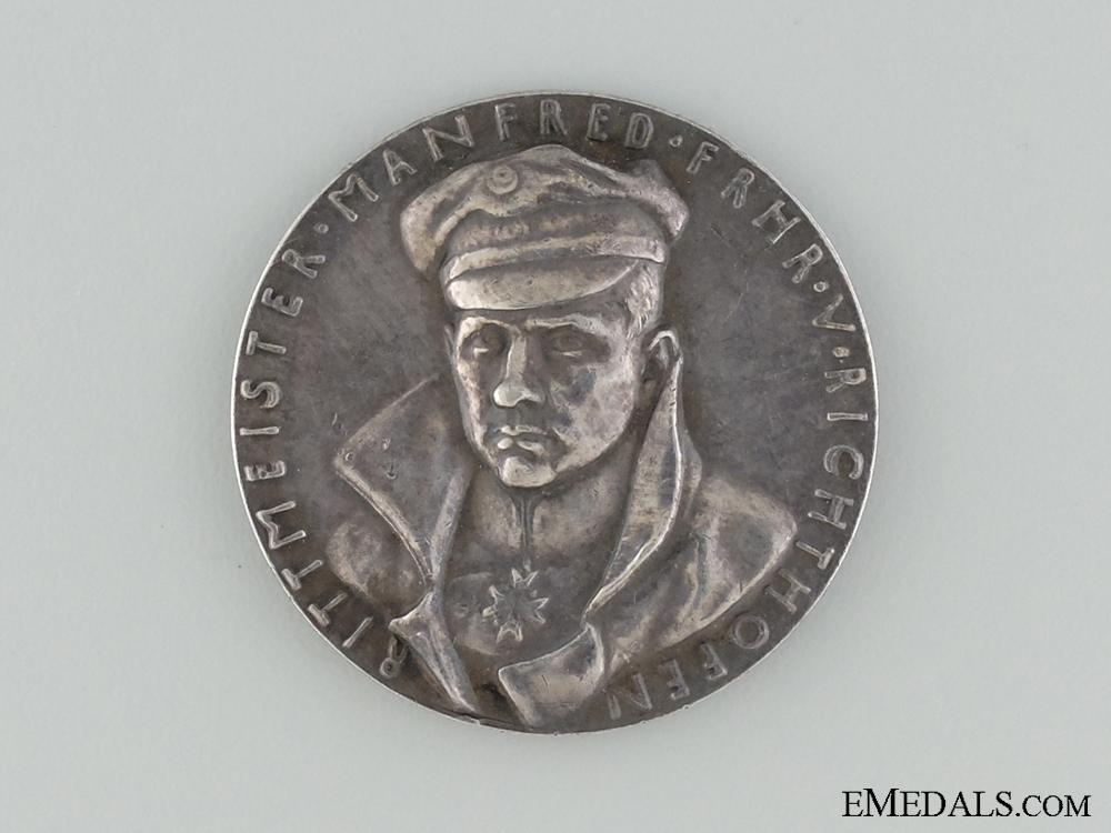 eMedals-Commemorative Medal, Manfred Albrecht Freiherr von Richthofen