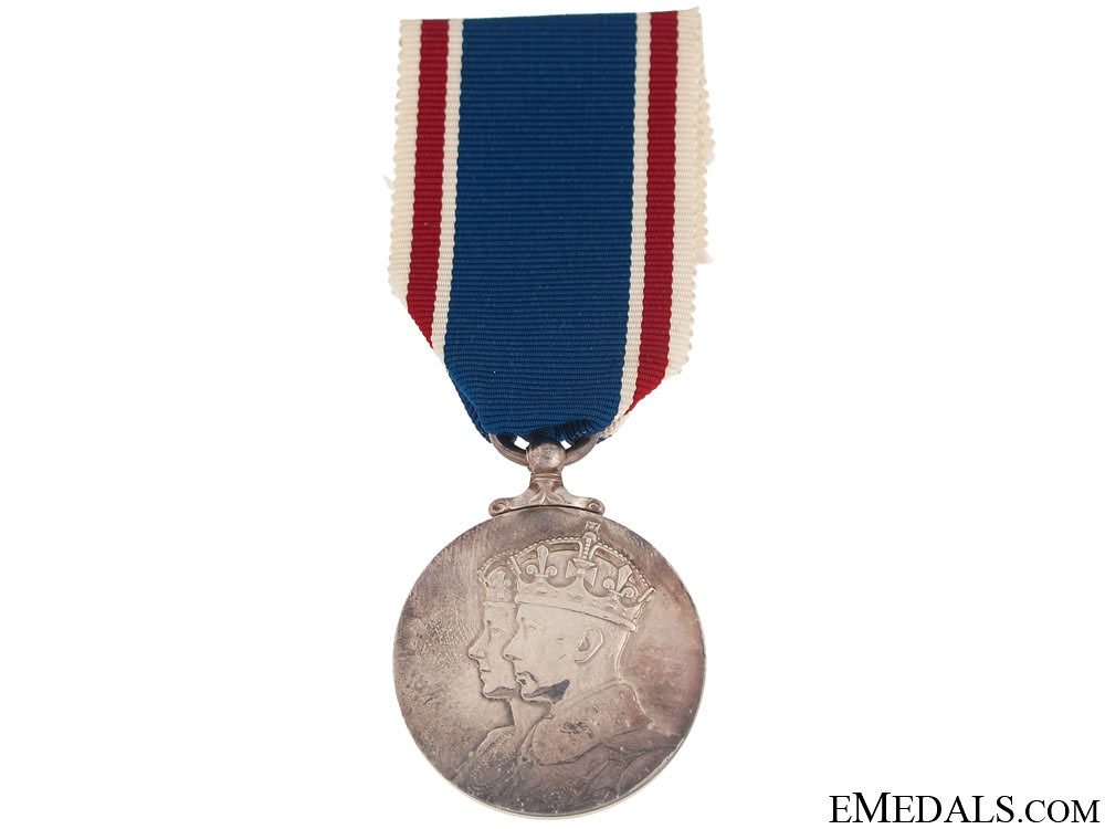 eMedals-Coronation Medal 1937