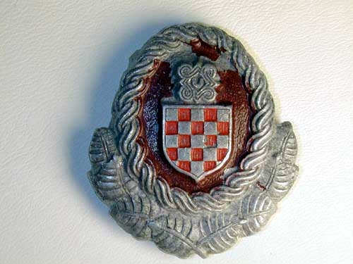 eMedals-OFFICERS CAP BADGE, CROATIAN ARMED FORCES