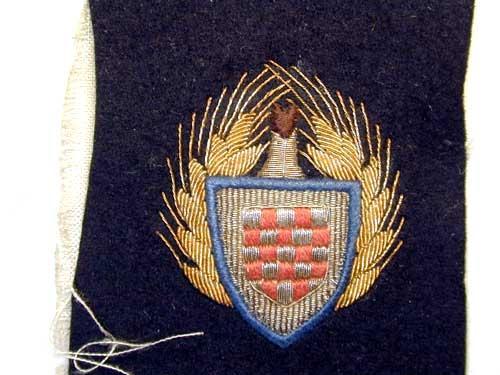 eMedals-NATIONAL LABOR SERVICE  GENERAL'S CAP BADGE