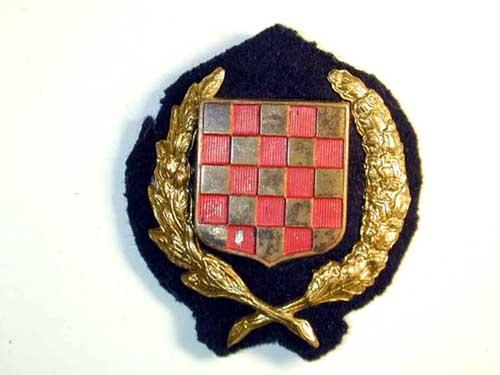 eMedals-OFFICER'S CAP BADGE 1941