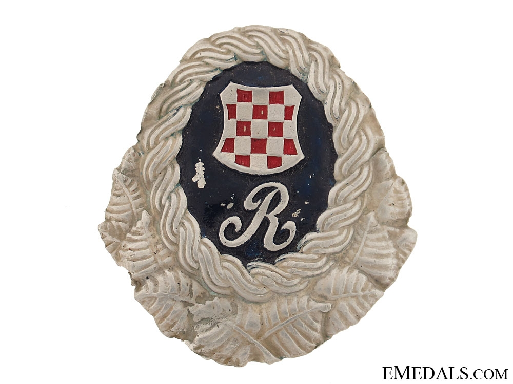 eMedals-WWII Police Guard Badge