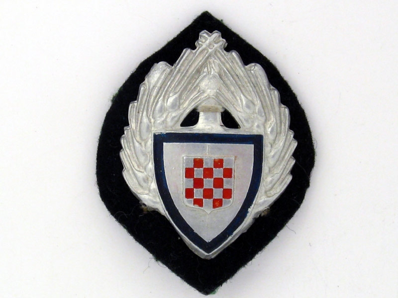 eMedals-Cap Badge of the Labor Organization 1941-45