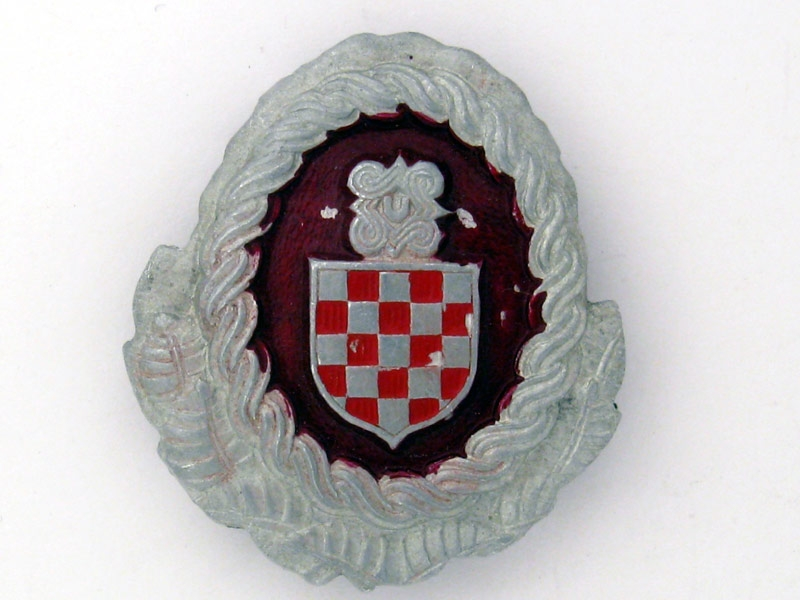 eMedals-Officer's Cap Badge, Croatian Armed Forces