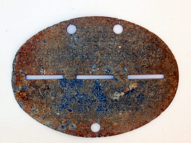eMedals-WWII Period ID (or Dog Tag),