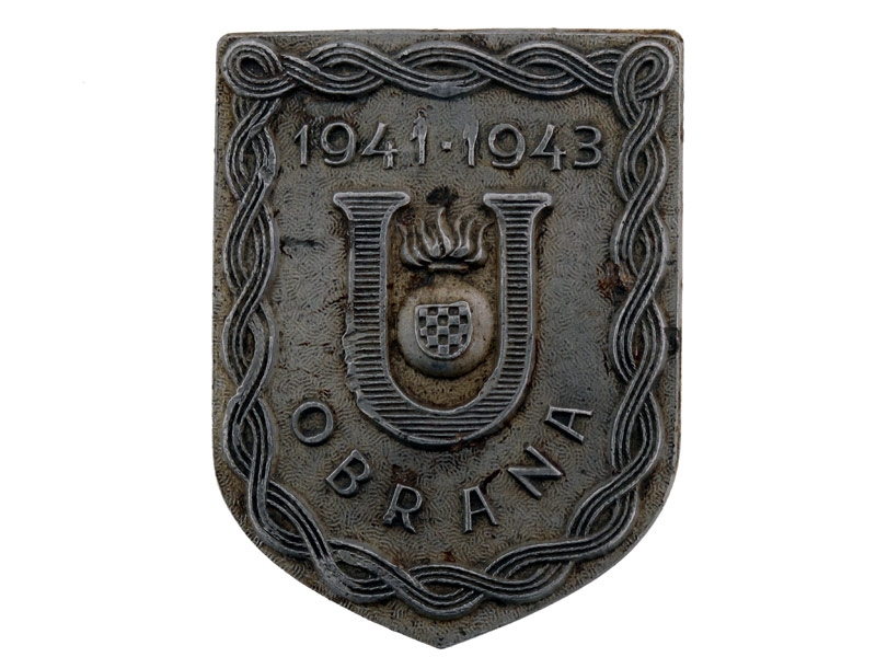 eMedals-Ustasha Defense Badge,