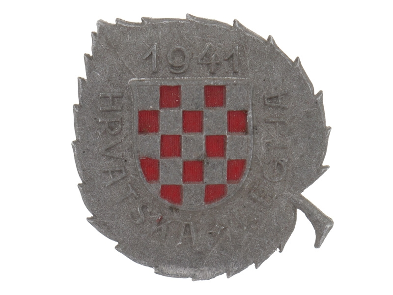eMedals-Badge of the Croatian Legion WWII