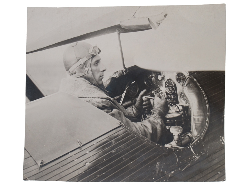 "eMedals-Kirasic in ""His"" Aircraft,"
