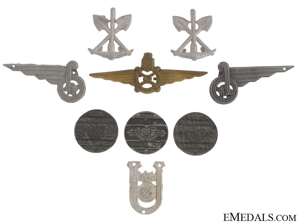 eMedals-Croatian Insignia & Telephone Jettons