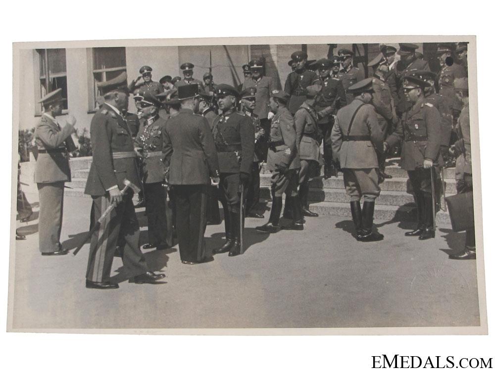 eMedals-Croatian Leadership Visiting Romania Photograph