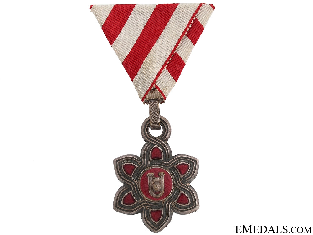 eMedals-Croatian Order of Merit - Rare Moslem Version