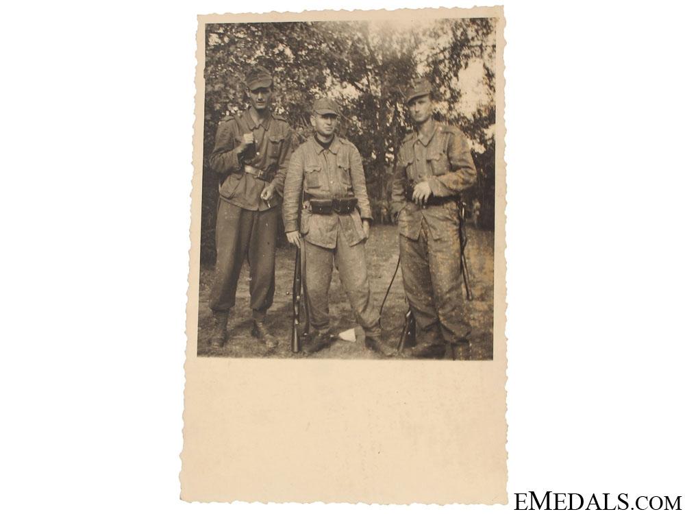 eMedals-Croatian Photo of Domobran – Varaždin 1943
