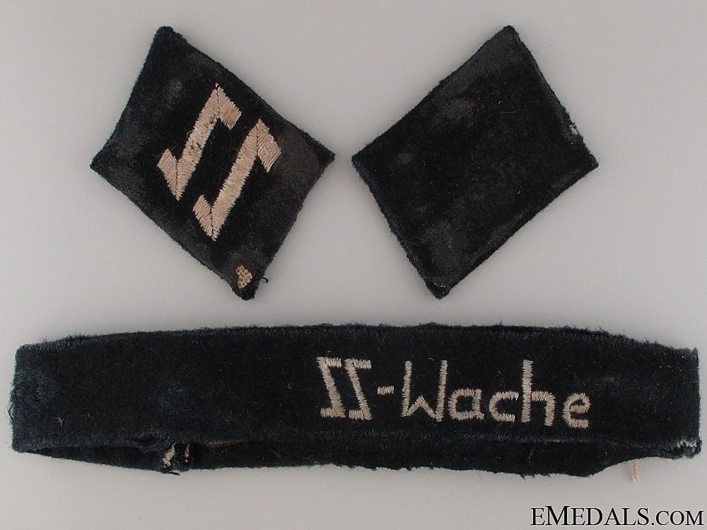 eMedals-Croatian SS-Eisenstafel Collar Tabs & Cufftitle