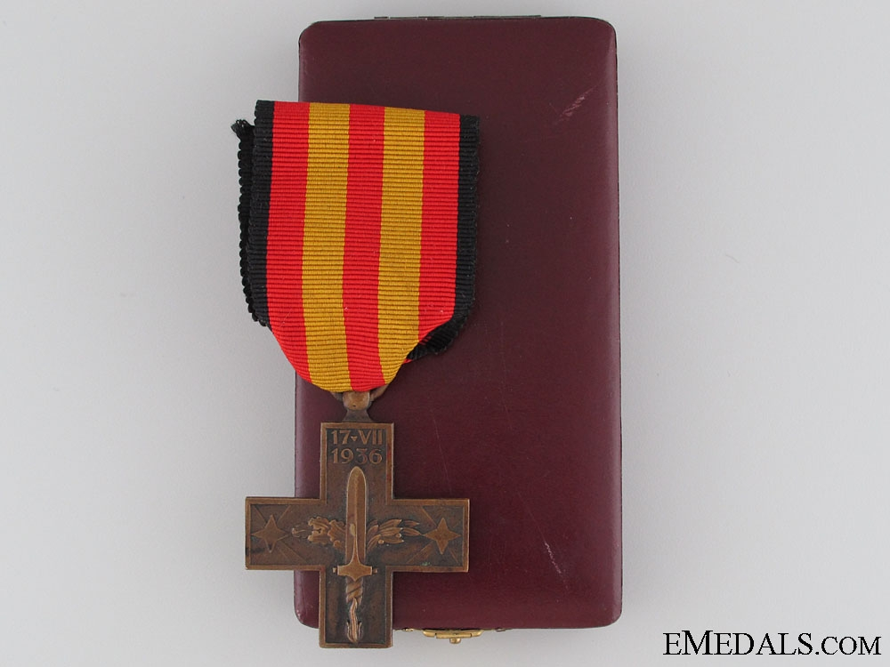 eMedals-A Cross of the Spanish Campaign 1936-1939