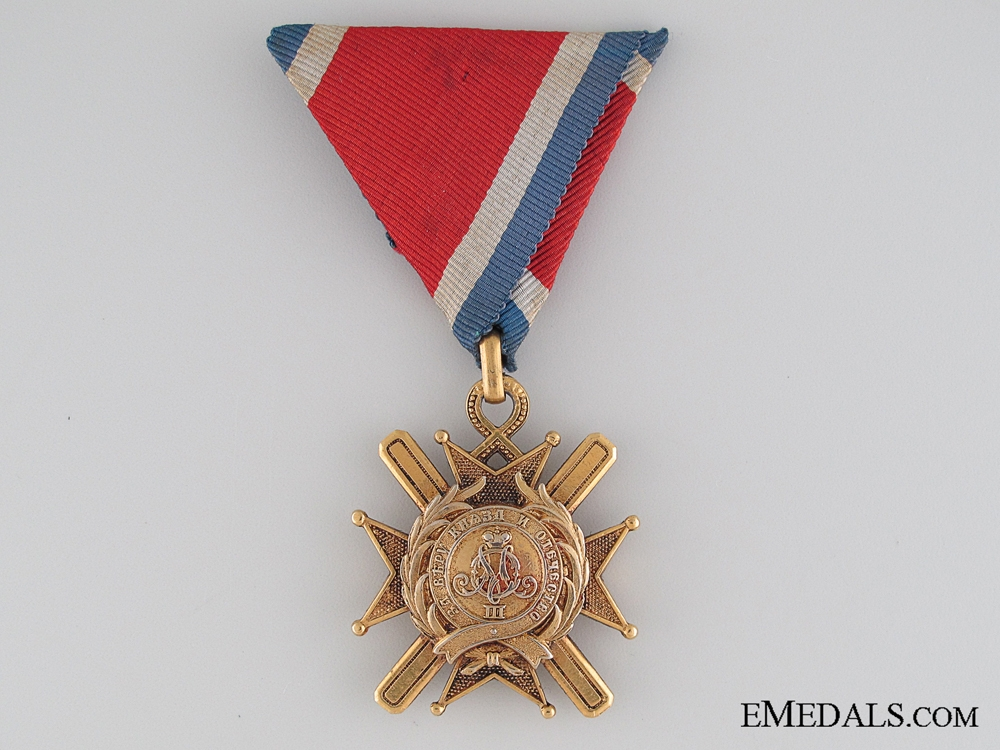 eMedals-Cross of Toakovo 1877-1903