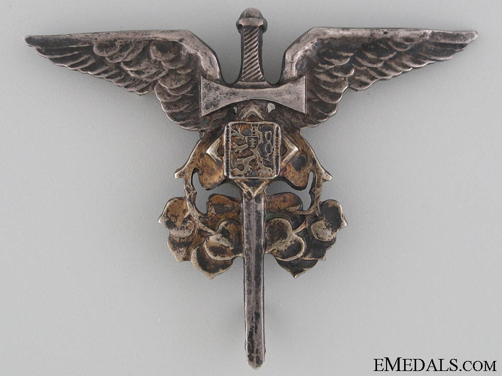 eMedals-Czechoslovakian Air Observer of Arms Badge