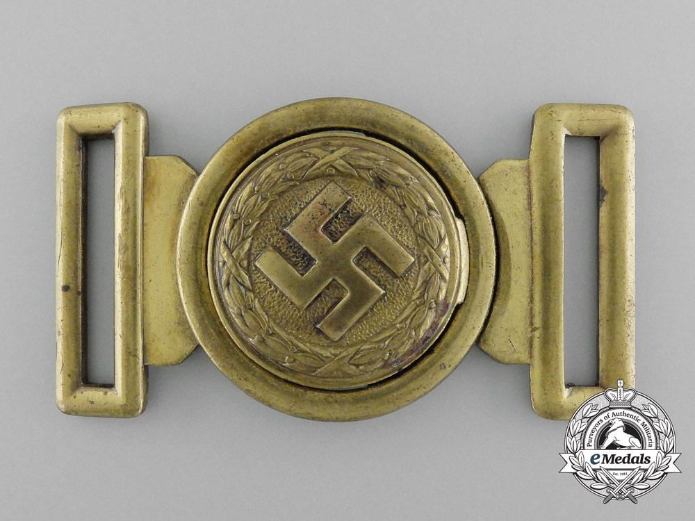 eMedals-An Unattributed German Second War Belt Buckle by Overhoff & Cie