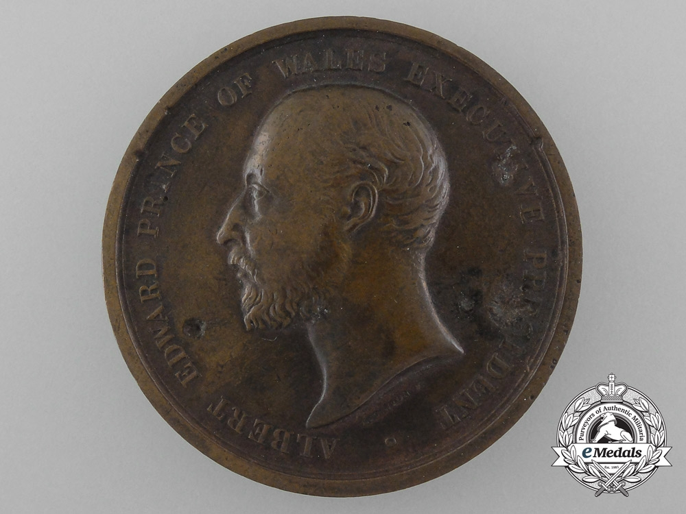 eMedals-United Kingdom. An 1886 British Colonial and Indian Exhibition Prize Medal