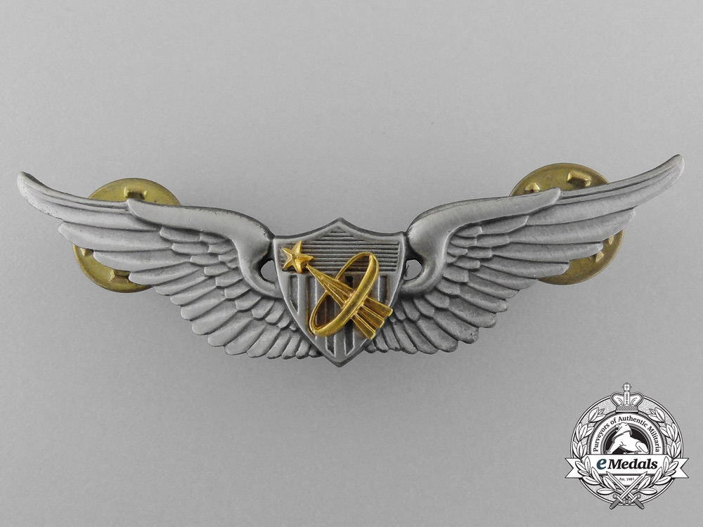 An American NASA – Army Astronaut's Wings