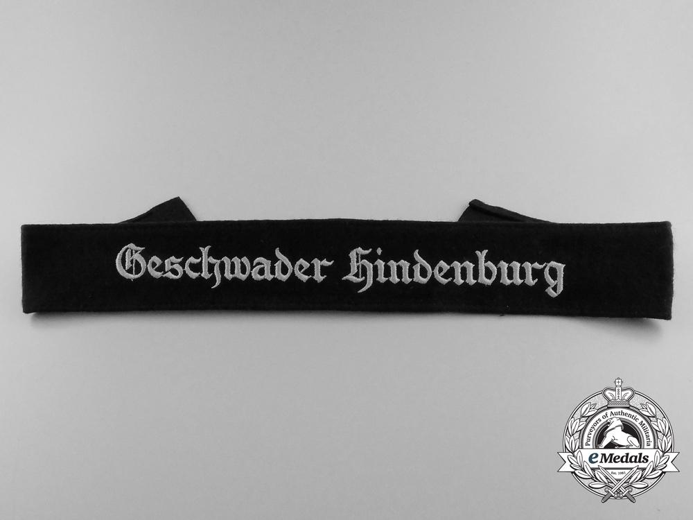 eMedals-A Luftwaffe Geschvader Hindenburg Cufftitle