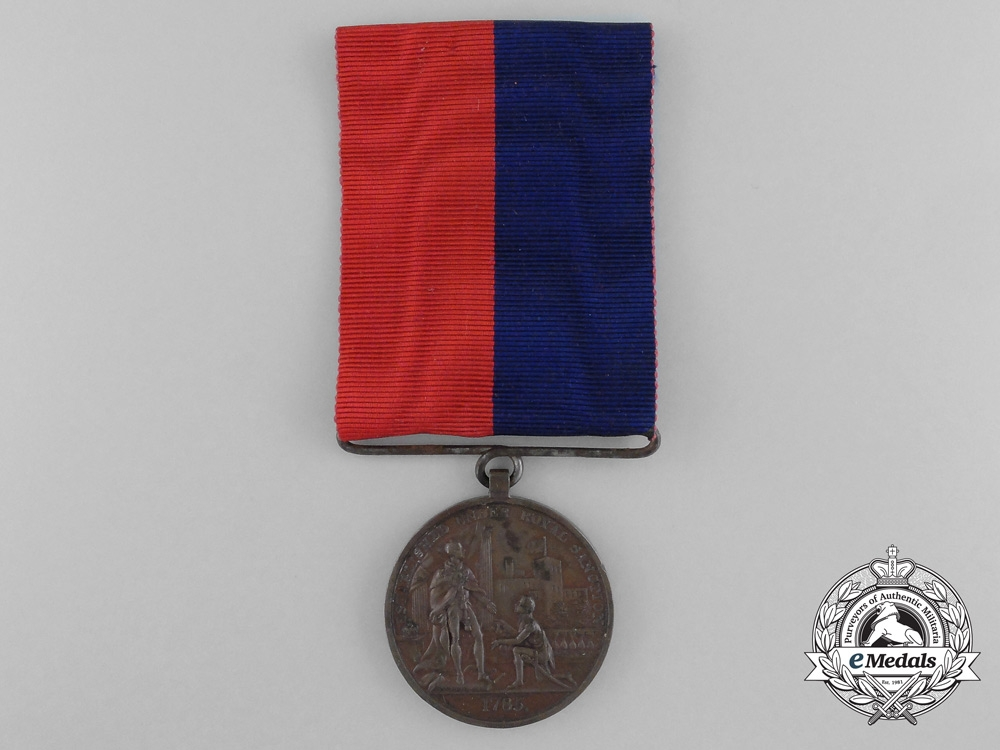 eMedals- An 1820 Merit Medal to the 22nd Regiment of Foot