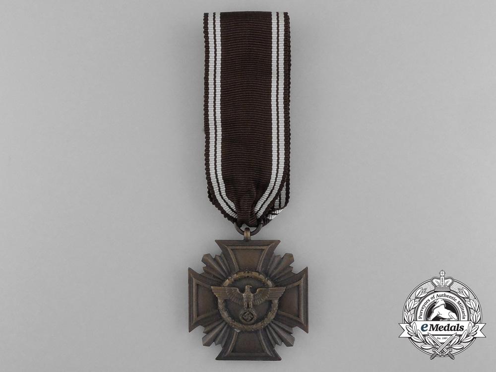 eMedals-A NSDAP Bronze 10-Year (3rd Class) Long Service Award