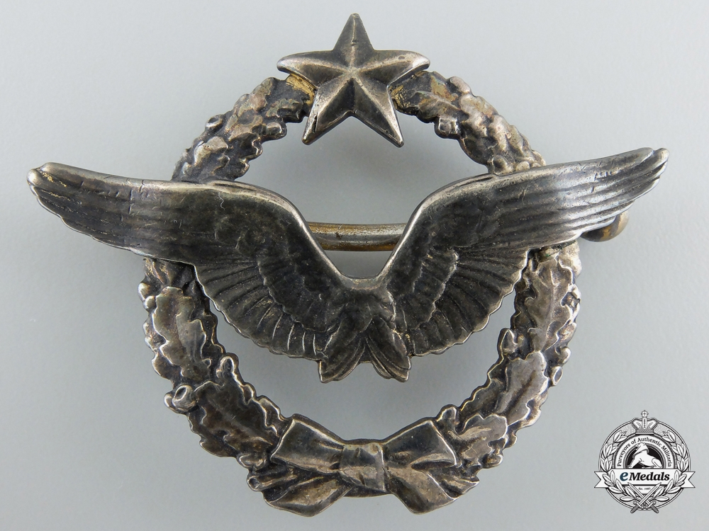 eMedals-A First War French Pilot's Badge, c. 1918