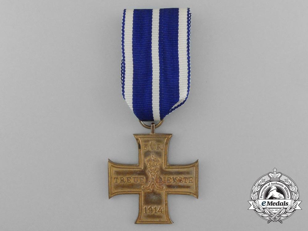 eMedals-A 1914 Lippe-Schaumburg Loyal Service Cross