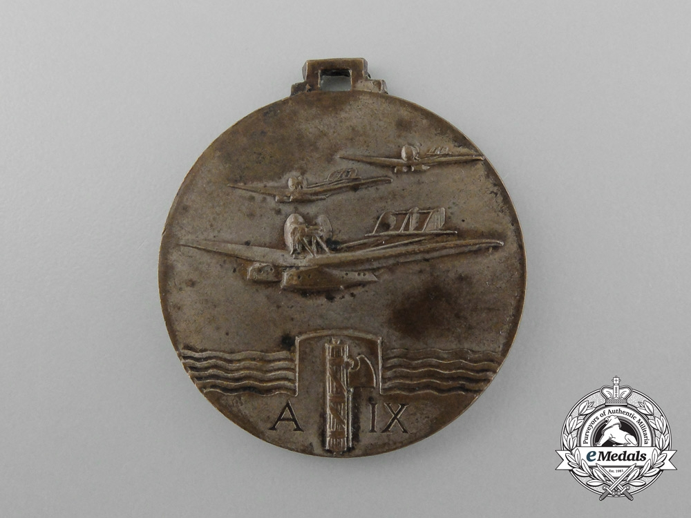 eMedals-An Italy to Brazil Trans-Atlantic Air Cruise Medal