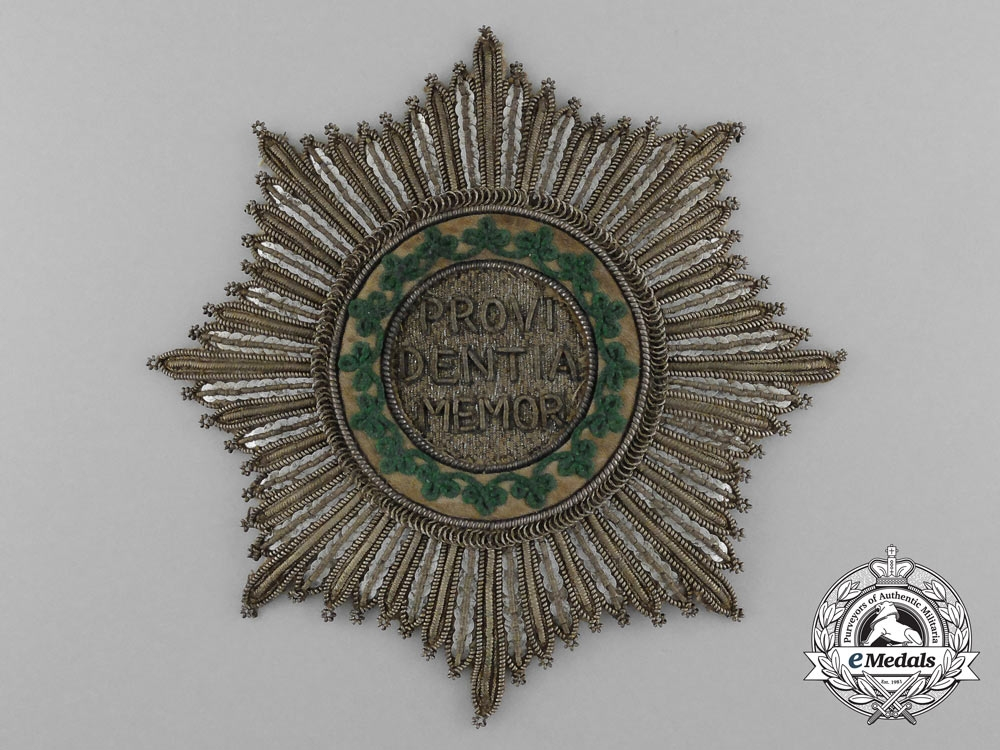 eMedals- Saxony, Kingdom. A Royal House Order of the Rue Crown, Grand Cross, c.1825