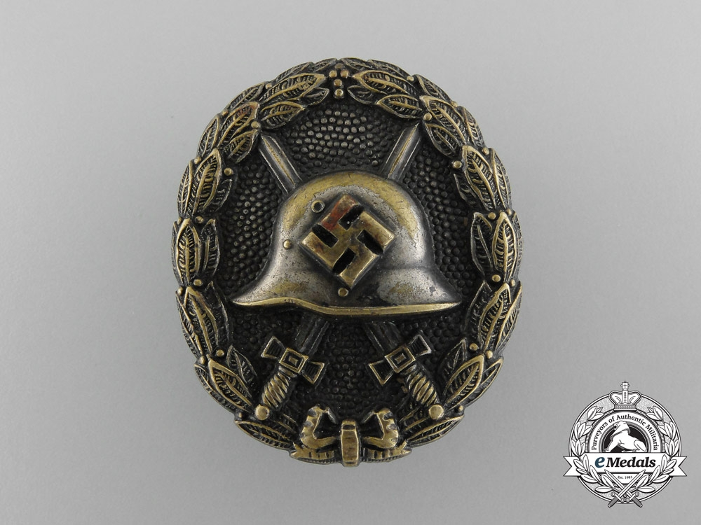 eMedals-A Silver Grade Condor Legion Wound Badge