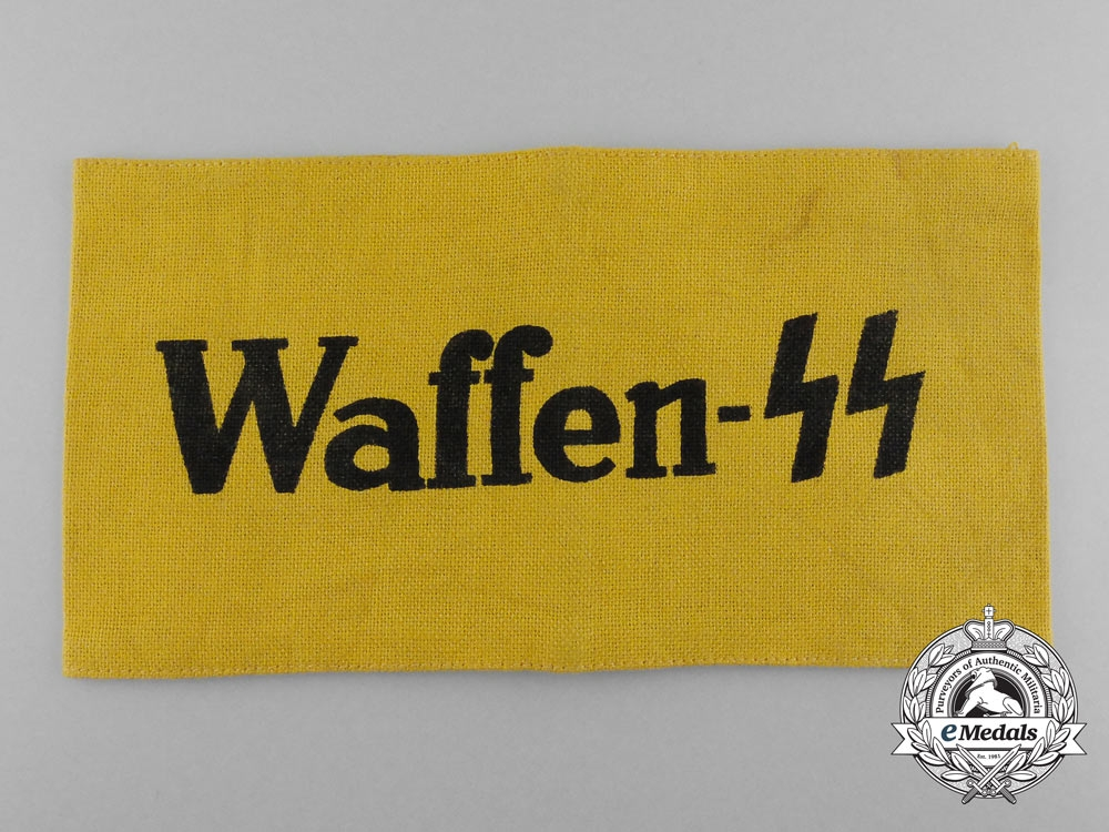 eMedals-A Waffen-SS Auxiliary Member's Armband