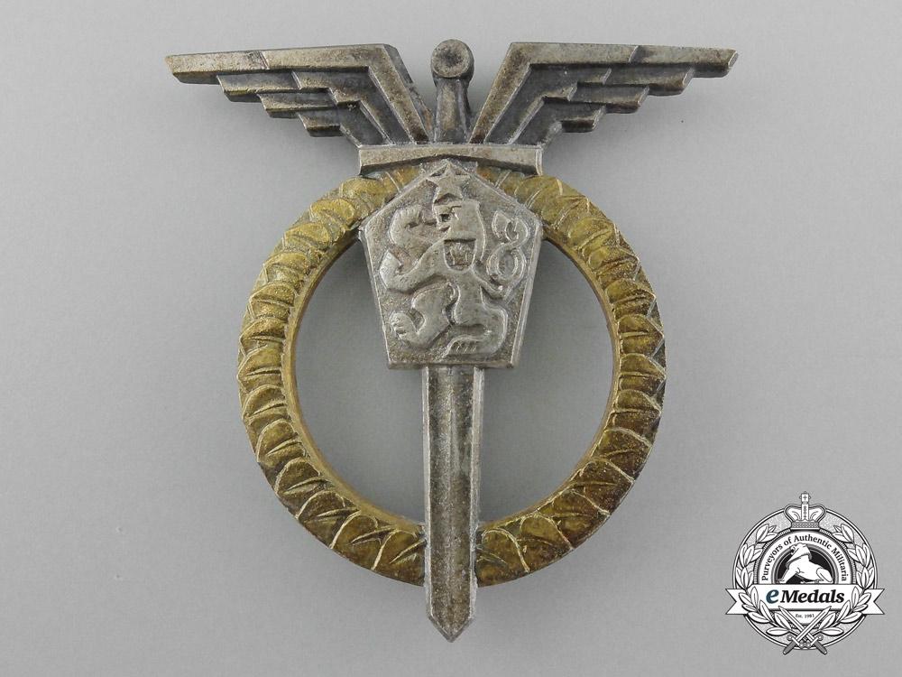 eMedals-A Czechoslovakian Air Force Navigator Badge, 2nd Class