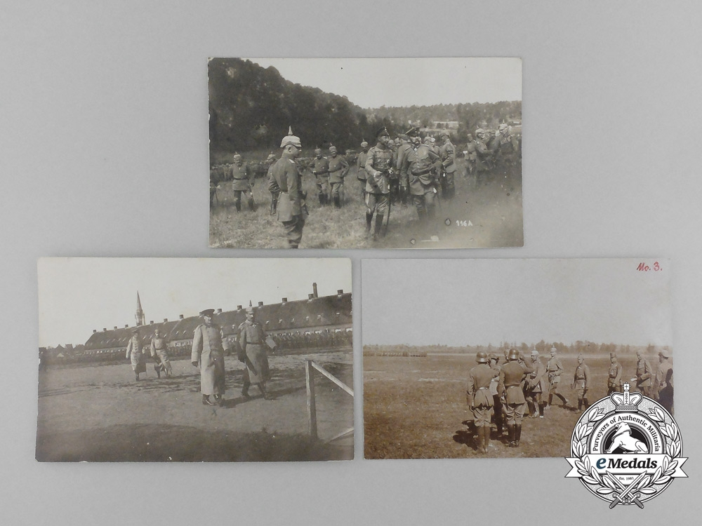 eMedals-A Lot of Three First War German Picture Postcards