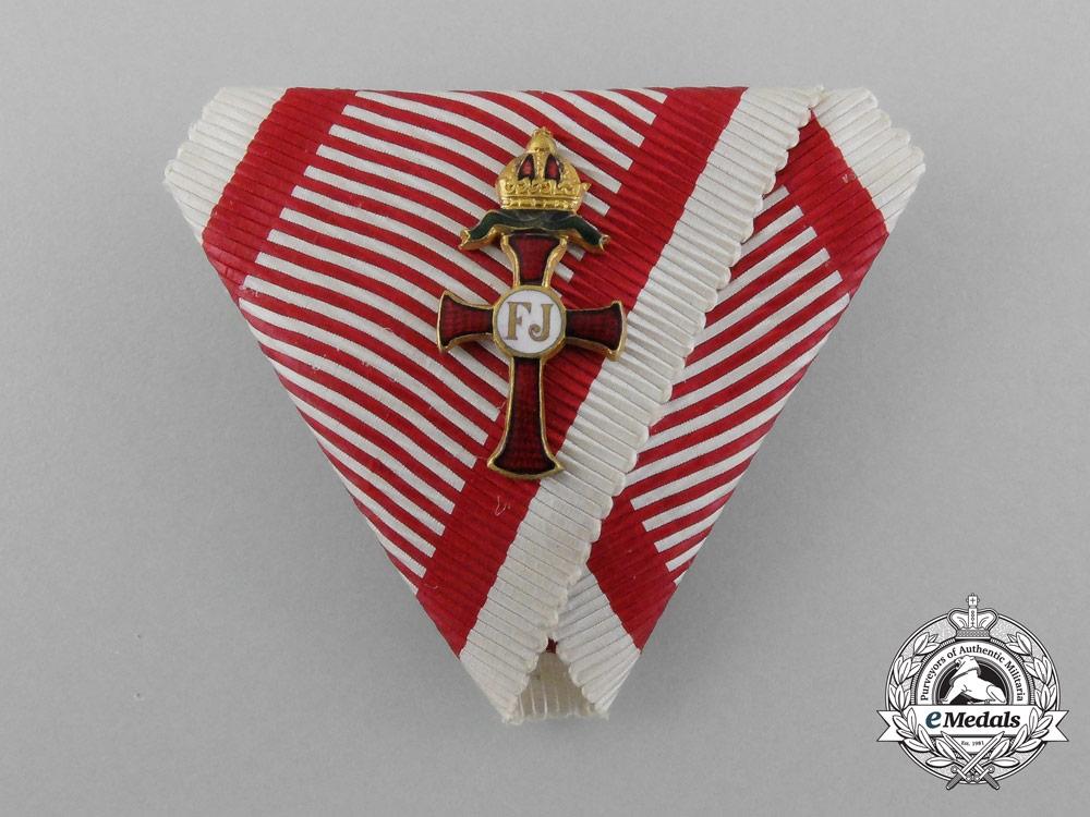 eMedals-An Austrian Franz Joseph Order Kleindekoration