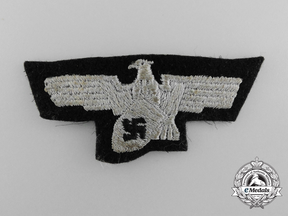 eMedals-A German Fire Department and Work Security Cap Eagle