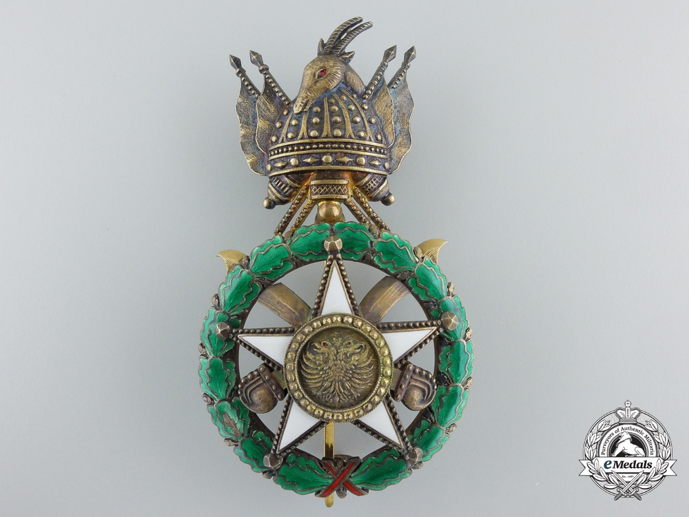 eMedals-An Albanian Order of Scanderbeg; Officer's Badge