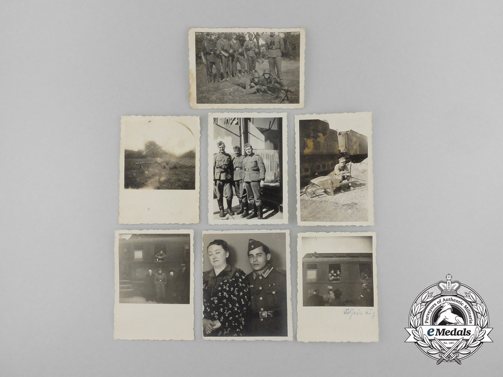 eMedals-A Lot of Seven Second War German Photographs