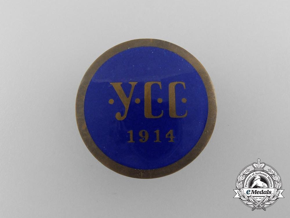 eMedals-A First War Ukrainian Sich Riflemen Cap Badge 1914