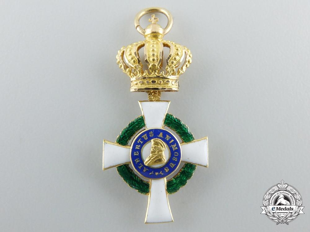 eMedals-A Miniature Grand Commander Saxon Albrecht Order (1851-1876)