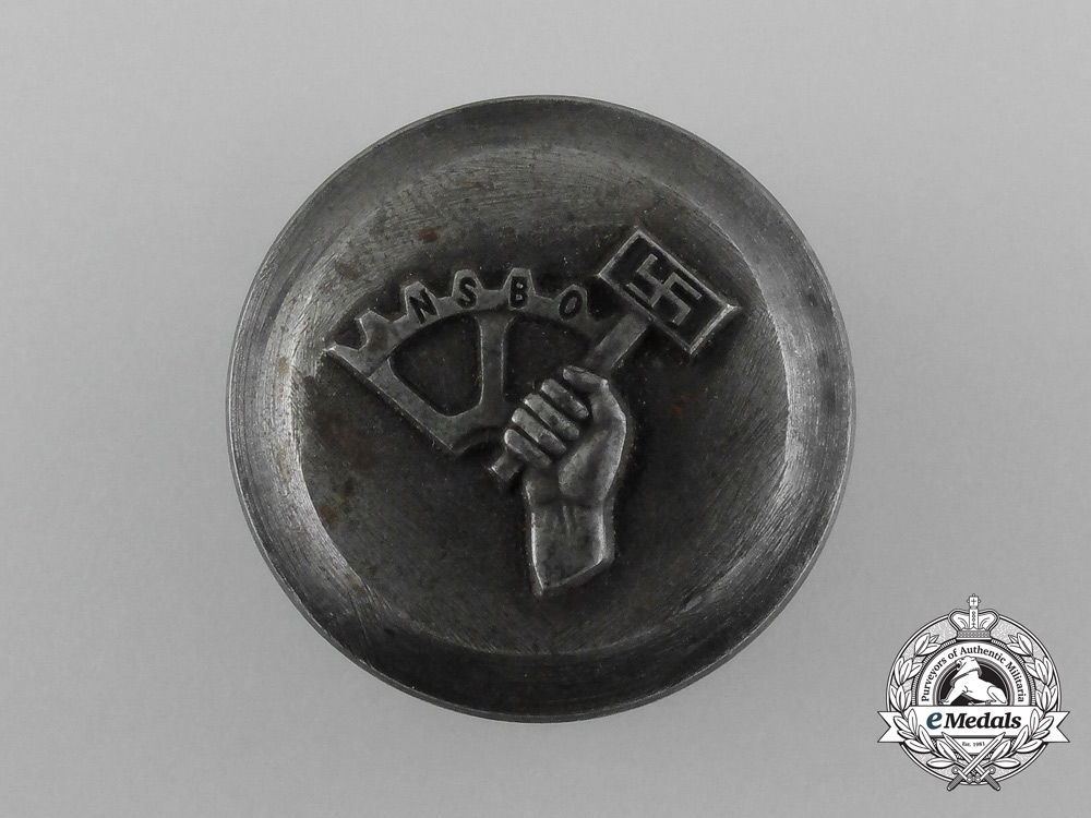 eMedals-A Manufacturing Die for a NSBO Membership Stickpin or Badge