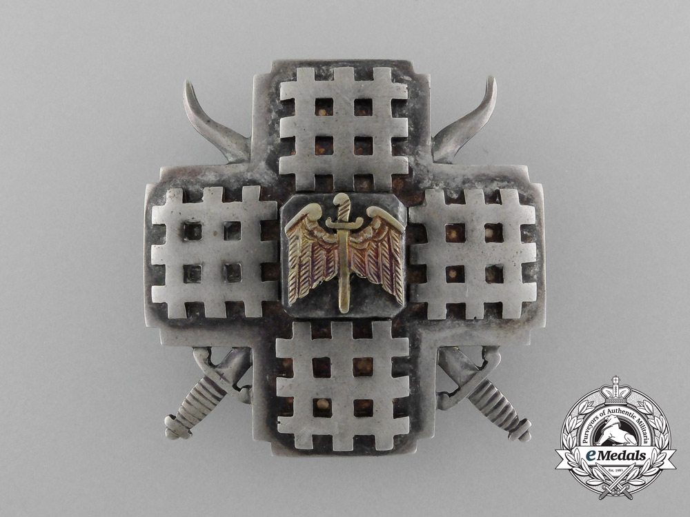 eMedals-A Rare Romanian Iron Guard Leader's Badge