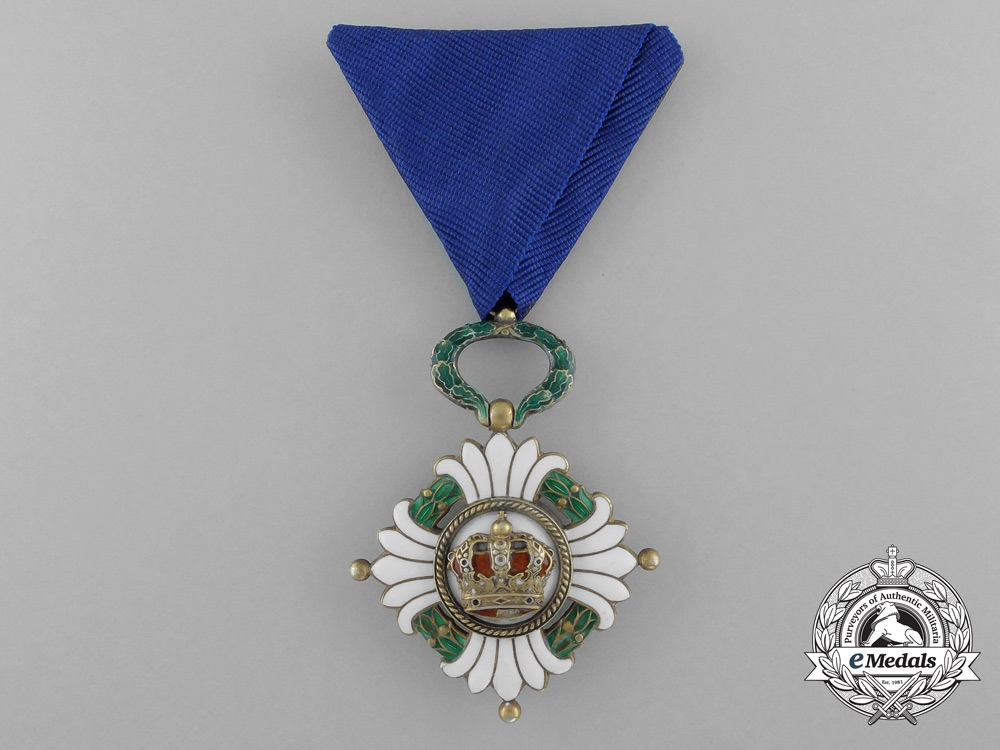 eMedals-An Order of the Yugoslav Crown, 4th Class (1929-1941)