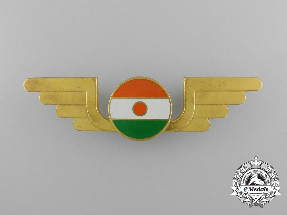 eMedals-A Niger Air Force Pilot Badge