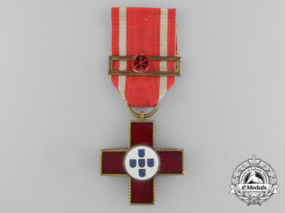 eMedals-A Portuguese Red Cross 4th Grade Dedication Cross