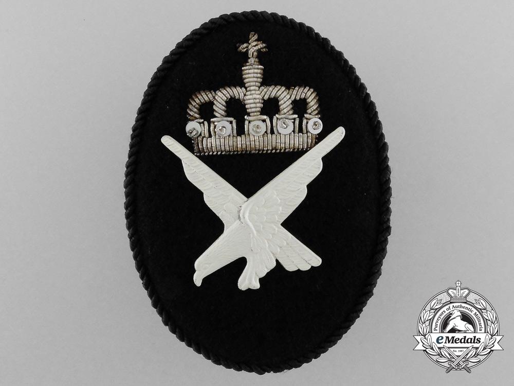 eMedals-A Royal Norwegian Air Force Cap Badge
