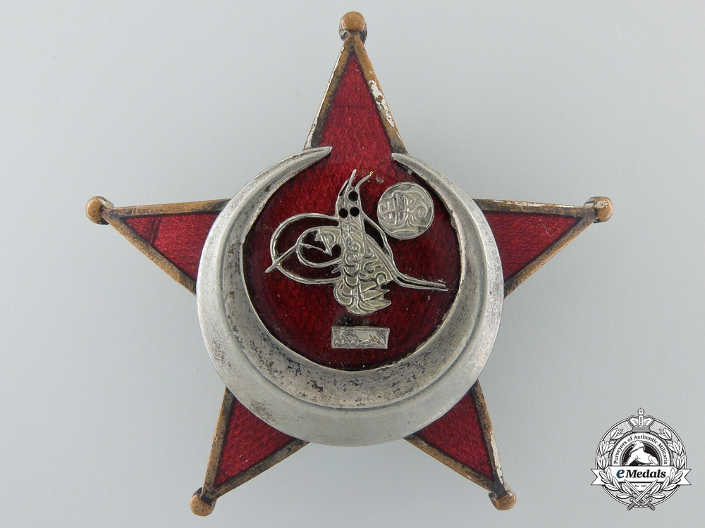 eMedals-A Turkish 1915 Campaign Star (Iron Crescent)