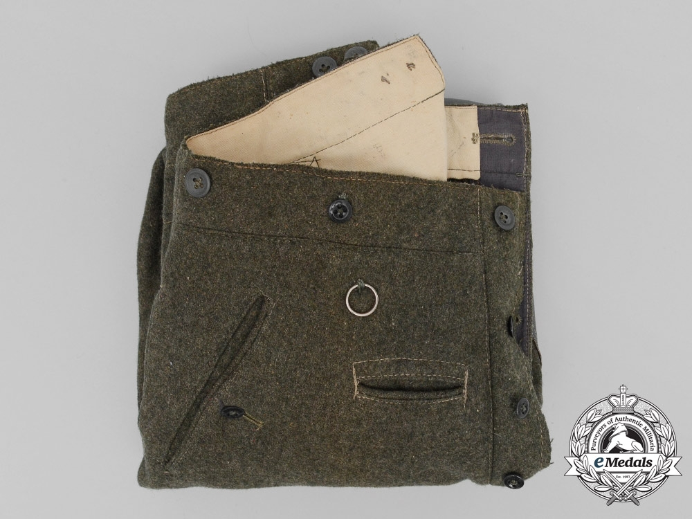 eMedals-A Pair of Wehrmacht Heer (Army) Mounted Troops Breeches