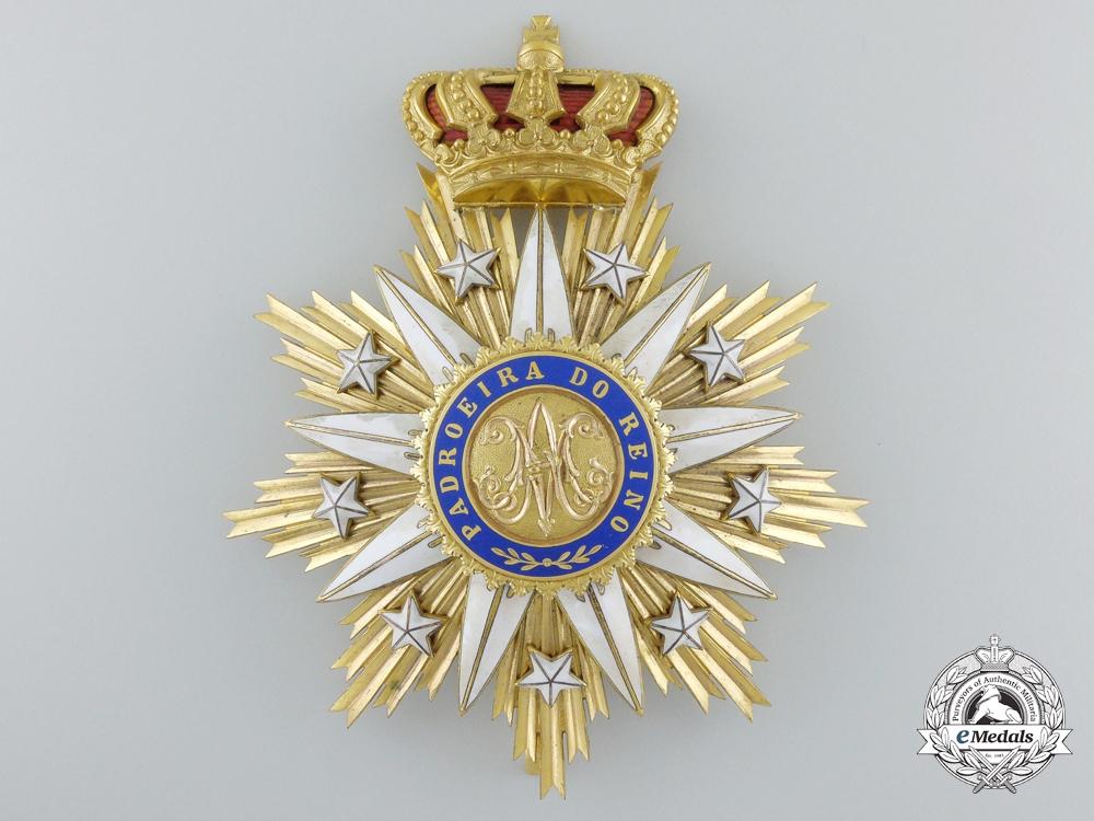 eMedals-A Portuguese Order of Villa Vicosa; Grand Cross Star by Godet, Berlin