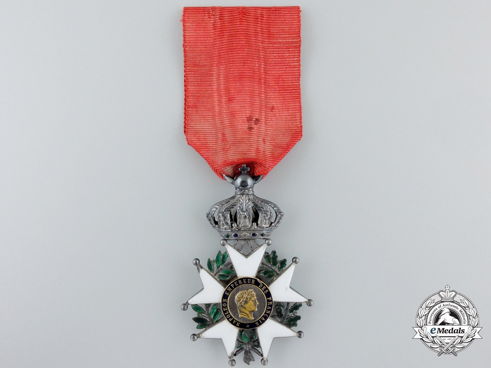 eMedals-A French Legion D'Honneur; (1852-1870) Second Empire Knight